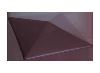 Capac stâlp gard Teracota (07)<br/>  445 X 585 X 106