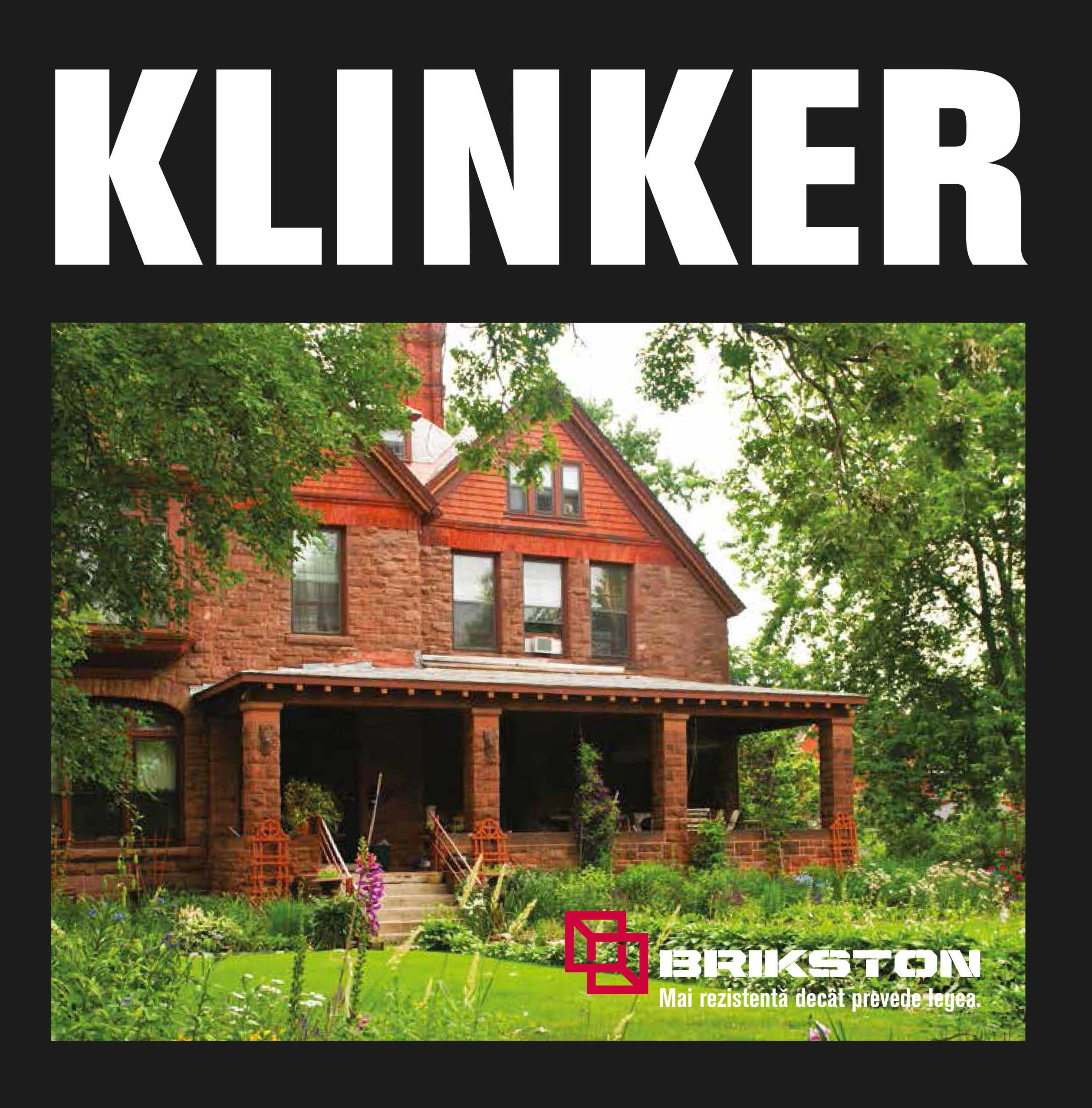 Brosura Brikston Klinker