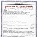 Certificate of conformity Republic of Moldova